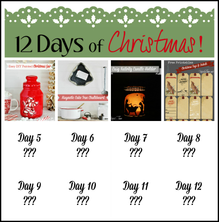 12 Days of Christmas Collage