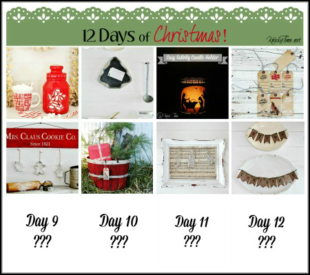 12 Days of Christmas Projects