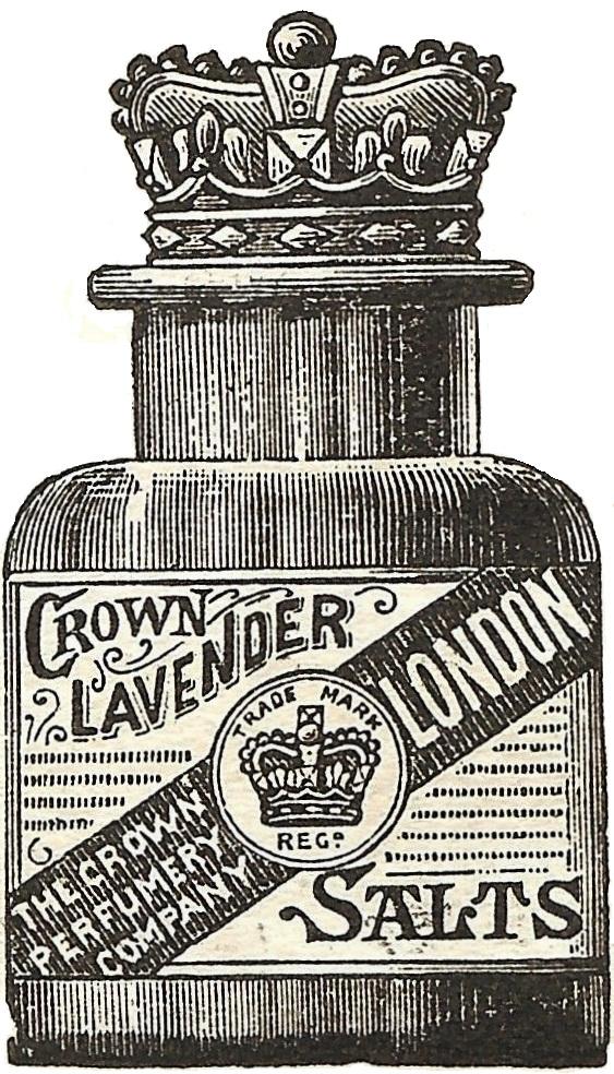 Antique Graphics 1888 Crown Lavender Bath Salts
