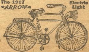 Antique Graphics Wednesday – 1917 Bicycle Advertisement