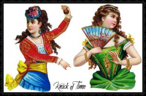 Dancing Ladies Die Cut Graphics