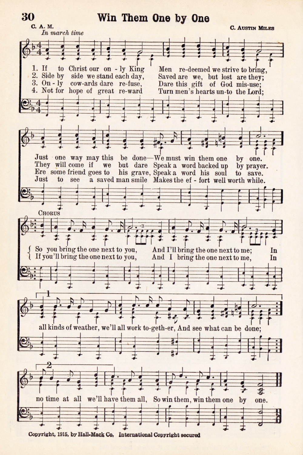 photograph relating to Printable Hymns named Antique Hymn Printable New music Web site - Earn Them A single by means of One particular