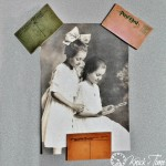 Antique Postcard Magnets via Knick of Time