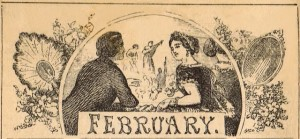 Antique Calendar Image – {Antique Graphics Wednesday}