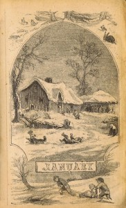 Antique Winter Sledding Illustrations – Antique Graphics Wednesday