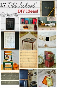 Back to School Decor Roundup – Old School Style!