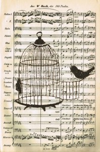 Antique Graphics Wednesday – Bird and Birdcage