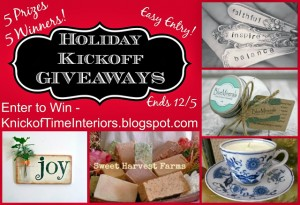 Black Friday SALES & GIVEAWAY with 5 Prizes for 5 Winners