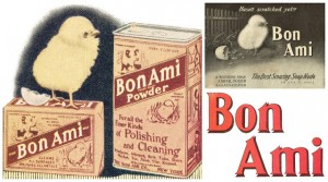Antique Graphics Wednesday – 1900's Bon Ami Advertisements