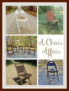 Thursday's Theme {A Chair Affair}