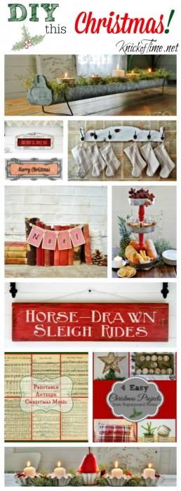 Christmas Projects, Printables and Handmade Gifts