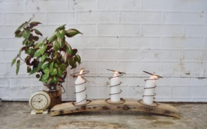 Quirky Candle Holder