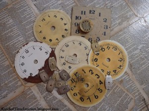 Antique Graphics Wednesday – Antique Clock Faces & Hymns