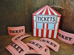 A Ticket with YOUR Name on It!  Vintage Giveaway