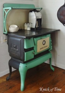 Passing it Down | Antique Farmhouse Kitchen Stove
