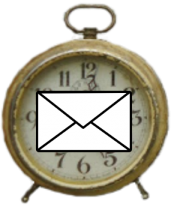 Email clock