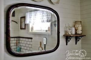 Farmhouse Bathroom Makeover … {again}