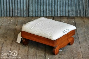 Seed Bag Footstool