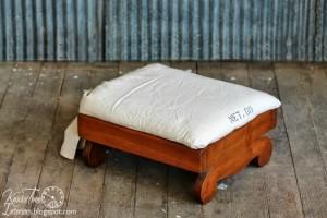 Seed Bag Footstool