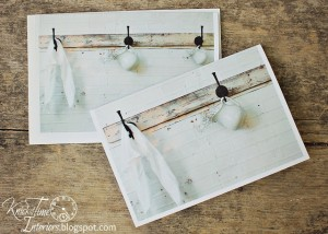 Coat Racks, Greeting Cards & Playing with Picmonkey…one thing leads to another