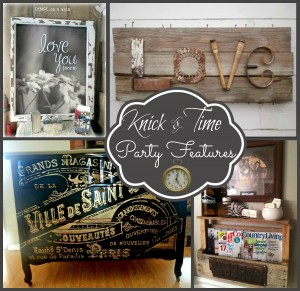 Vintage Inspiration Party – Knick of Time Tuesday #124
