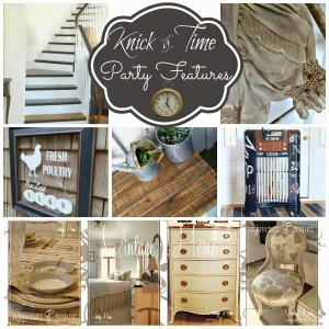 Knick of Time Tuesday #142 – Vintage Decor Inspiration Party