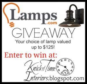 Lamps.com GIVEAWAY