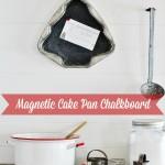 Magnetic Christmas Chalkboard