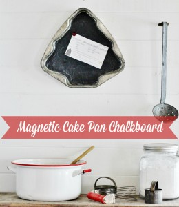 Cake Pan Christmas Chalkboard – 12 Days of Christmas {day 2}
