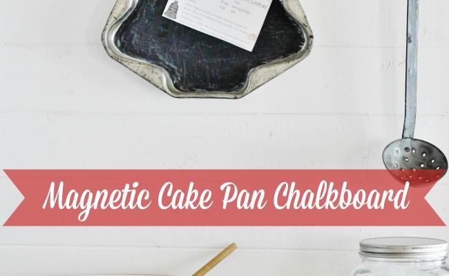 Cake Pan Christmas Chalkboard – 12 Days of Christmas {day 2}