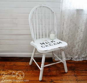 Milk and Cream Co. Chair & Christmas Games