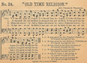 Sonday – Old Time Religion