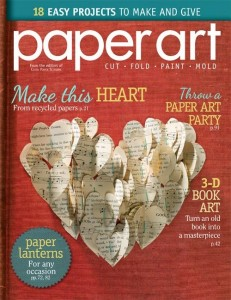 On the Newsstands – Paper Art Magazine {and I'm in it!}