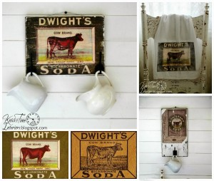 Free Printables – Antique Cow Image Advertisement Transfer Projects