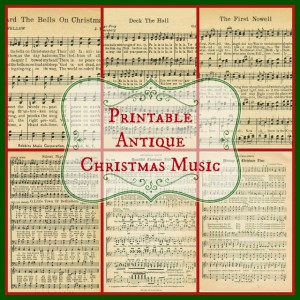 Christmas Music Pages – Loads of free pages!