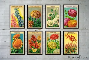 Antique Farmhouse Seed Packet Prints