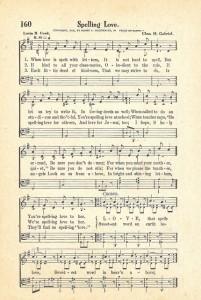 Sonday – Spelling LOVE