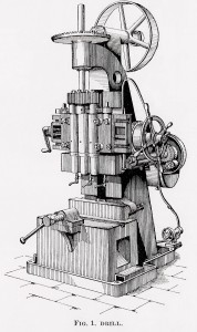 Vintage Clip Art – Machinery – Steampunk Image Printable Graphic