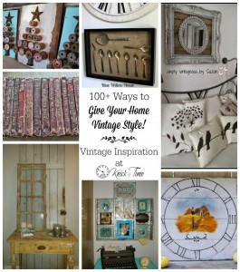 Vintage Inspiration Party #163 – Packed with Vintage Home Decor Ideas!