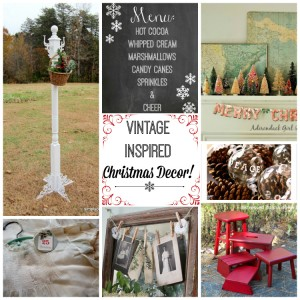 Vintage Inspiration Party #165 – Christmas Decor Galore!