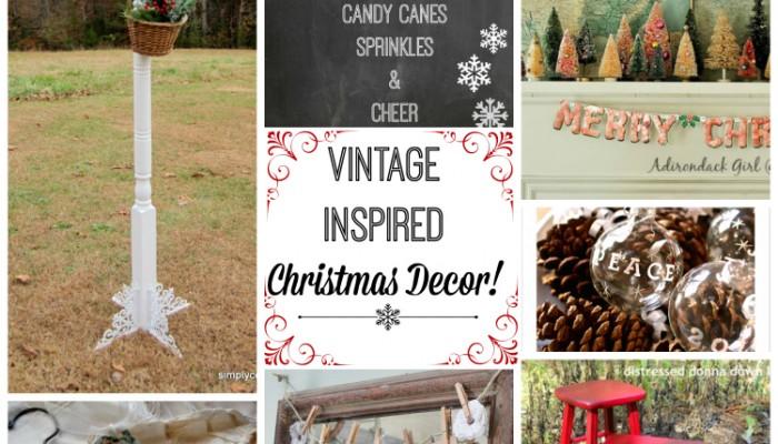 Vintage Inspiration Party #165 – Christmas Decor Galore!