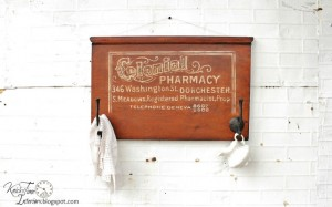 Colonial Pharmacy Sign