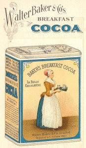 Antique Graphics Wednesday – 1923 Baker's Chocolate and Cocoa Images