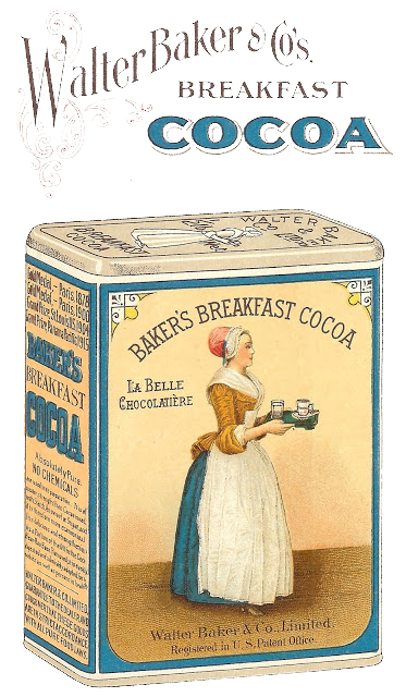 antique advertisement baker's cocoa