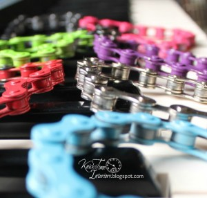 Jump the Curb – Bike Chain Bracelets