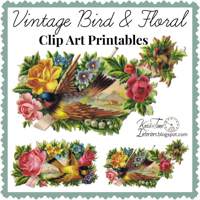 free clipart of vintage birds - photo #43