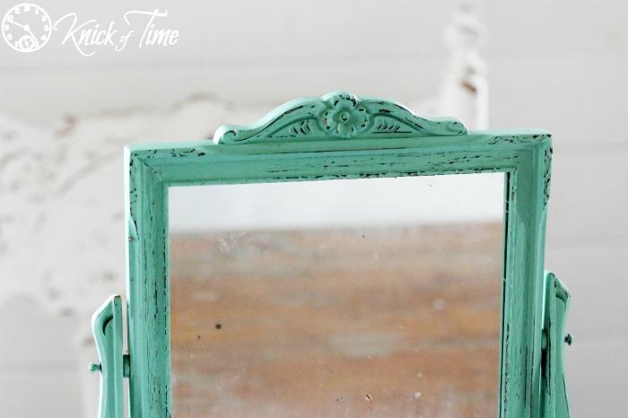 carved frame antique mirror