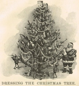 Antique Christmas Tree Printable Image