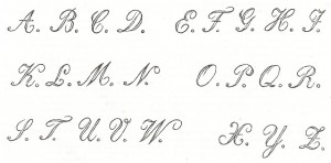 Antique Graphics Wednesday – Three 1800's Antique Alphabet Fonts