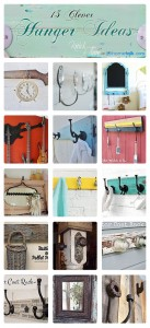 15 Clever Hanger Ideas via Hometalk {You Know I Love a Good Hang-up!}